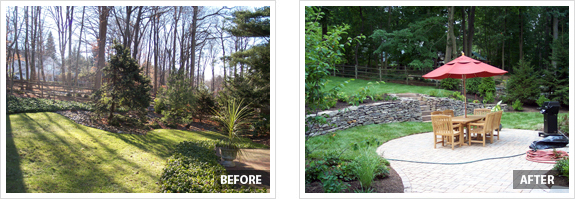 backyard landscaping before and after photos landscaping ideas
